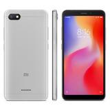 Smartphone Xiaomi Redmi 6a Cinza, Tela 5,45, 2gb Ram, 16gb