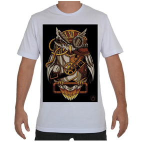 4aaf59f4a Camiseta Personalizada Camisa Blusa Coruja Golden Owl N.131
