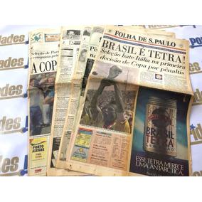 Seleção Brasileira Brasil Tetra Campeão 1994 Jornal Original