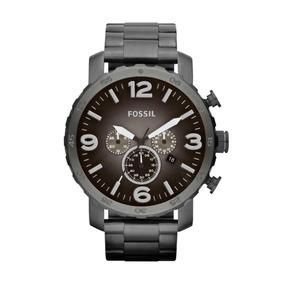 Reloj Fossil Jr1437 Caballero Gris Obscuro Mate Analogo