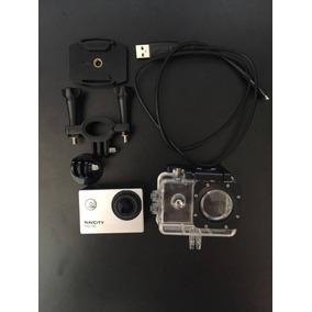 Câmera Esportiva Navcity Ng-100 + Case À Prova D´água