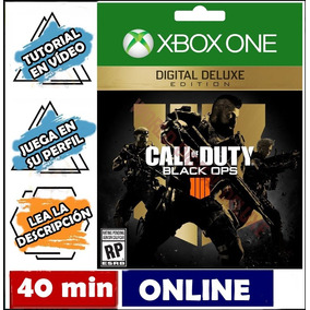 Call Of Duty Black Ops 4 Deluxe Xbox One Online