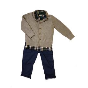 Conjunto Saco + Pantalon + Camisa Mothercare Niño 12m - 18m cec5ded9b85