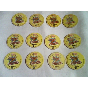Lote Com 12 Tazos Looney Tunes Pernalonga E Seus Amigos 1997