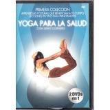 Yoga Para La Salud. Primera Coleccion. Dvd Original Usado.