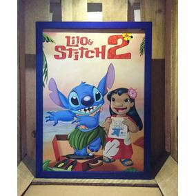 Poster Lilo & Stitch 2 Quadro Decorativo