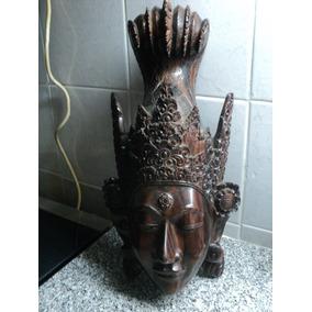 Talla Madera Njana Tilem Gallery Mas Bali Mascara Mujer