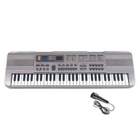Organo Piano Electrico Infantil Juguete 61 Teclas Microfono