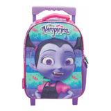 Mochila Con Carro Jardin 12p Vampirina Disney Mundo Manias