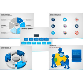Pacote Completo 800+ Templates Power Point