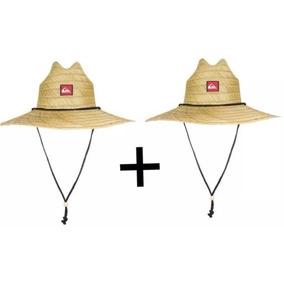 Dois Chapéus Quiksilver Pierside (palha) - Natural