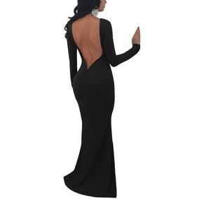 3caf53dbe Vestido Largo De Cola De Sirena - Vestidos de Mujer Negro en Jalisco ...