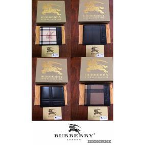 Billetera Cartera Burberry Caballero 5 Modelos