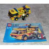 Lego City 7891 Airport Firetruck 141pçs + 1 Minifig