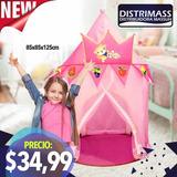 Castillo Carpa Armable Para Princesas Producto Importado