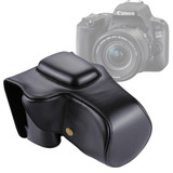 Full Body Camera Pu Leather Case Bag For Canon Eos 200d (18-