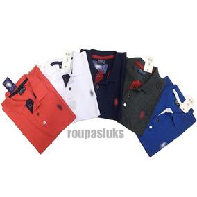 Camisa Polo G1 E G2 (tamanho Especial) - Pólos Manga Curta ... b6eef1eb0acd4