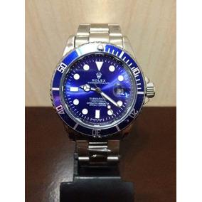 88d0643a3f4 Relógio Masculino Submariner Bleu Rolex Unisex