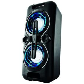 Caixa De Som Philco 150w Bateria Usb Fm Aux Bluetooth Bivolt