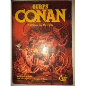 Rpg Gurps Conan Editora Devir 1997 Otimo Rarissimo
