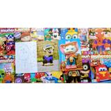 Muñecos Y Juguetes De Tela Lote Por 16 Revistas