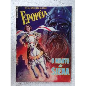 Epopéia Nº 46! Ebal Mai 1956! O Manto De Siena