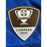 634f5535bc Camisa Cruzeiro Patch Campeao - Futebol no Mercado Livre Brasil