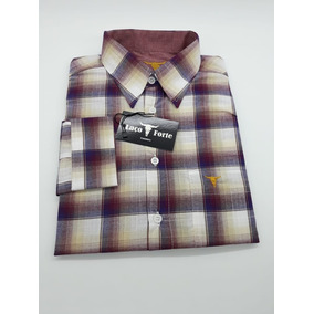 Camisa Xadrez Cowboy - Camisa Manga Longa Masculino no Mercado Livre ... afe721e9b75