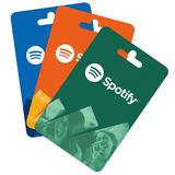 Tarjeta Spotify Premium Ecuador 1 Mes Envio Gratis