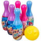 Bowling Set Juego Set De Bolos Shimmer Shine Nickelodeon
