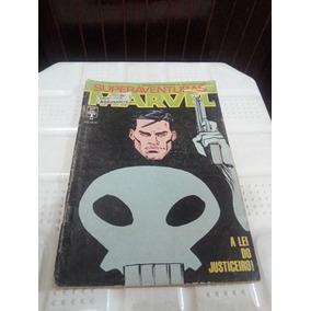 Hq Gibi Superaventuras Marvel A Lei Do Justiceiro Nº 74 1988