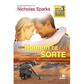 Livro: Um Homem De Sorte - Nicholas Sparks ( Edição Antiga )