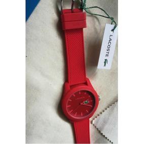 Reloj Lacost Original Unisex Rojo