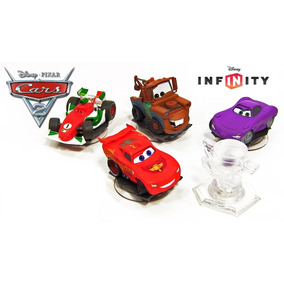 Pack 5x Mcqueen Holley Mate &+ Cars Disney Infinity 1.0