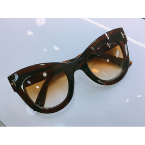 192d5aa06b766 Oculos De Sol Gatinha Marrom Tom Ford - Óculos no Mercado Livre Brasil