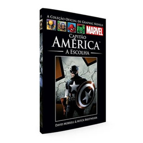 Capitão América A Escolha | Graphic Novels Marvel - Vol.55.