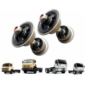 Kit Coxim Traseiro Vazado Cabine Caminhão Vw Ford Cargo 8150