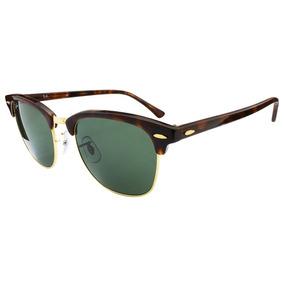 Óculos Ray Ban Clubmaster Rb3016 Marrom  Dourado De Sol - Óculos no ... f2248ff4eb