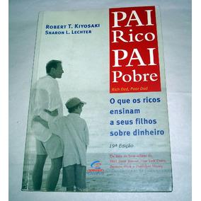 Livro Pai Rico Pai Pobre Kiyosaki Lechter