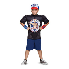 Disfraz Para Niño Wwe John Cena Talla 10-12 Musculoso - a1d6b47f50b