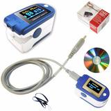 Oximetro Pulsoximetro Saturometro 24h, Alarma Y Software