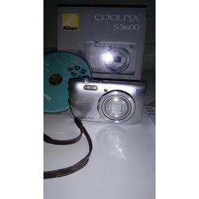 Camara Digital Nikon Coolpix 3600