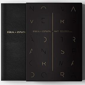 Bíblia De Estudo Nvt- Preta - Mundo Cristão Na Caixa