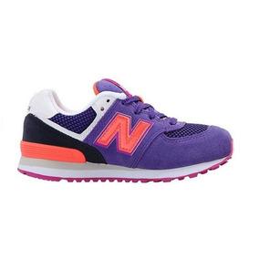 Tenis New Balance Kids 574 Sneakers Nuevos Originales #20