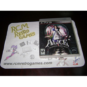 Alice Madness Returns - Original Playstation 3