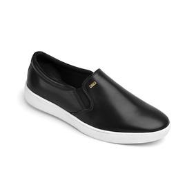 Calzado Dama Mujer Zapato Flat Urbano Flexi Piel Negro Comod