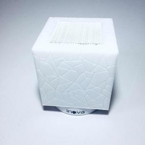 Caixa De Som Inova Luminária De Led De Mesa Inteligente