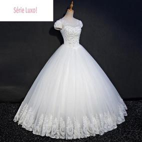Vestido De Noivas 136080 Casamento Serie Luxo Extra Grande
