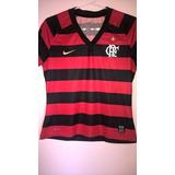 Camisa Flamengo 2008  2009 Feminina Nike Freddy Krueger Rara 27e9d7564465c