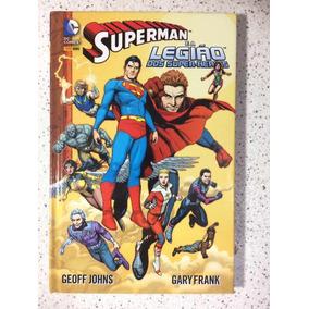Gibi Superman E A Legião Dos Super Heróis N1/2013 Capa Dura